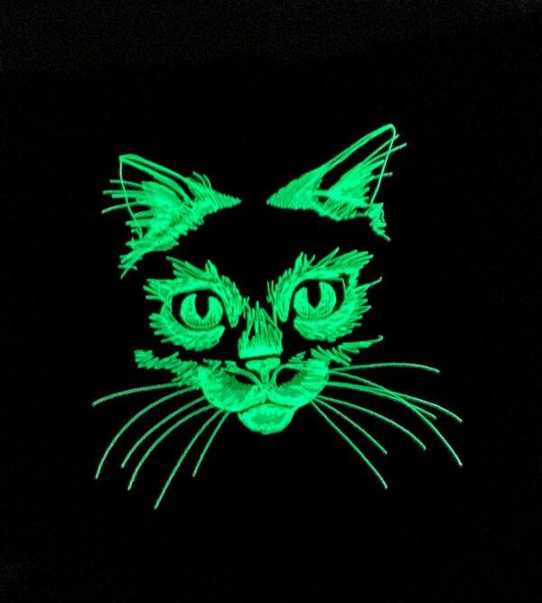 Perna pisica fosforescenta 2